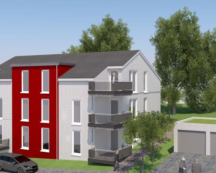 Mehrfamilienwohnhaus mit Garagen